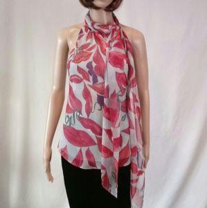 Diane Von Furstenberg blouse.